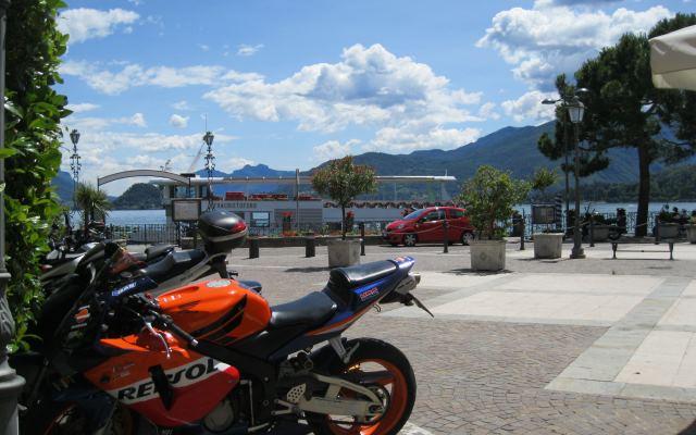 italie à moto
