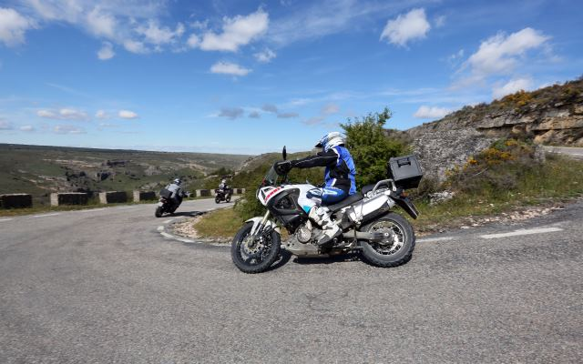 balade moto Espagne