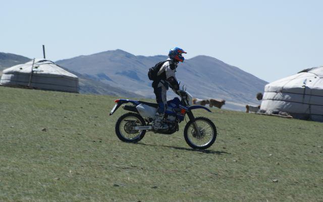 road trip moto mongolie