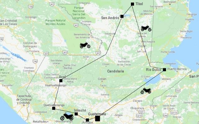 Voyage Moto Guatemala Expedition Au Sur La Piste