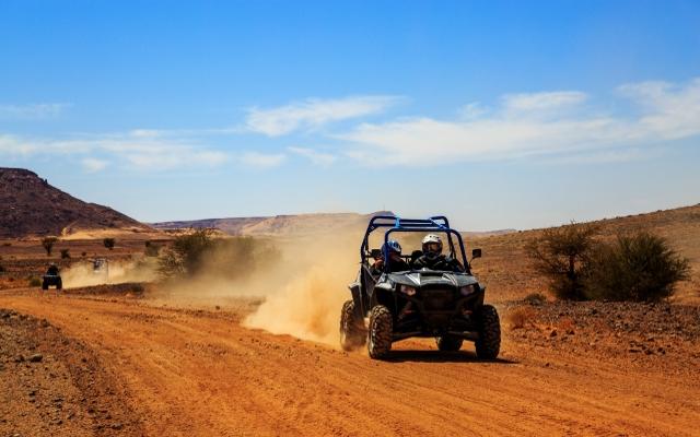 Voyage atv 4 wheeler avec Planet Ride