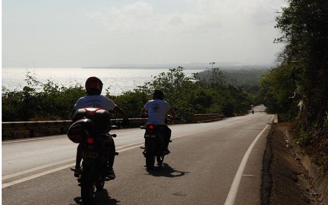 colombie en moto
