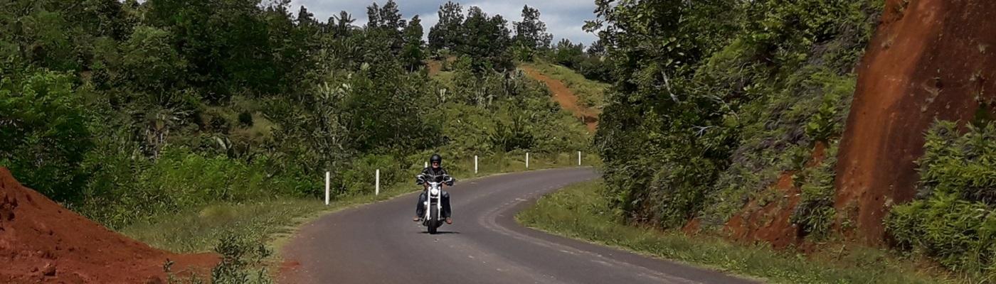 Madagascar en moto