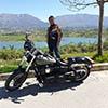 Roland - Albanie - moto