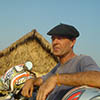 Jean Louis - Laos - moto